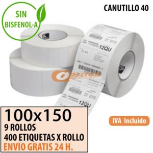 Etiquetas Térmicas 100x150