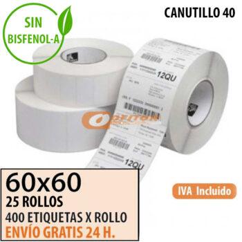 Etiquetas Térmicas 60x60