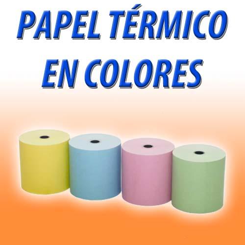 Papel térmico de color