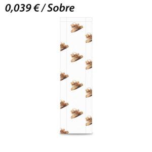 1000 SOBRES PAPEL 15+5X55