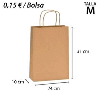 BOLSAS DE PAPEL ASA 24+10x31